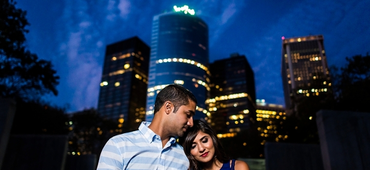 Viraj and Rishi Play Chess And Eat Ice Cream At Their NYC Engagement Session.